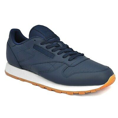 b8e047d913b REEBOK CLASSIC LEATHER PG BD1641 navy blue halfshoes -  91.61