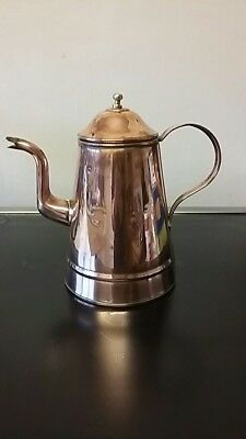 Antique copper coffee pot 1910