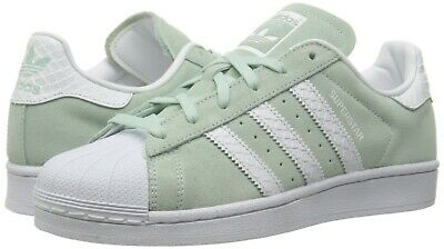 new product c83c0 35086 ADIDAS ORIGINALS WOMEN'S Superstar Shoes Running.Color- Ice Mint/White/White