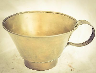 Antique Solid Copper Brass Jug Pan Grocery Store or Grain Shovel DUTCH