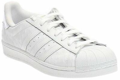 info for 1e4a1 c8b65 ADIDAS ORIGINALS MEN'S Superstar Shoes Running. Color- White / Silver  Metallic