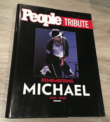 People Tribute Remembering Michael Jackson Hardcover Book