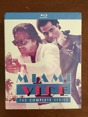MIAMI VICE THE COMPLETE SERIES (20-Disc Blu-Ray) Don Johnson Michael Mann - New!