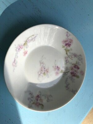 Rare Theodore Haviland Limoges Bowl Marked Patent Applied For