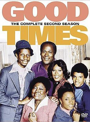 Good Times - The Complete Second Season (DVD, 2004, 3-Disc Set) Brand New!