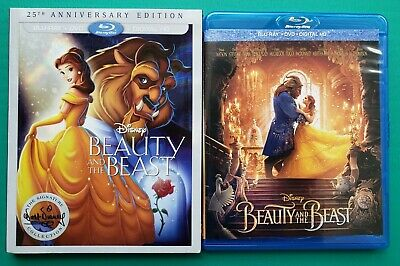 Beauty and the Beast Live 2017 and Animated 1991 Collection (Blu-Ray Disc Only)