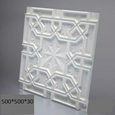 EAST 3D Decorative Wall Panel ABS Plastic Mould Mold Plaster Gypsum DIY Tile