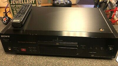Sony SACD player SCD-XB770 QS Highend Flagship Range Super Audio CD **REMOTE**