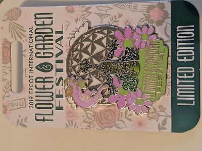 Disney Epcot Flower and Garden Festival 2019 Topiary Figment Pin LE 4000 New