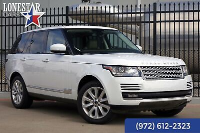 2013 Land Rover Range Rover Vision Assist HSE Clean Carfax One Owner 2013 White HSE Clean Carfax One Owner!