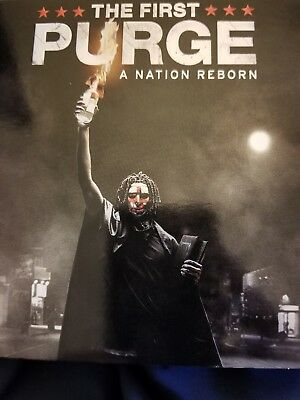 The First Purge (2018, blu ray disc ONLY) UNPLAYED,NO case/digital⬇️Read⬇️bluray