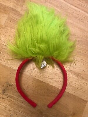 Trolls Dreamworks Dog Headband Costume Green Chartreuse Size L/xl Petco Holiday