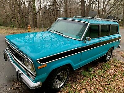 1978 Jeep Wagoneer  1978 Jeep Custom Wagoneer, Rare 401-4v Engine.  Mid year Model, Solid V-8 Runs