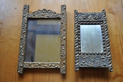 2 Victorian 1870s AESTHETIC GILT Gesso & Wood Antique Picture Photo Frames F / S