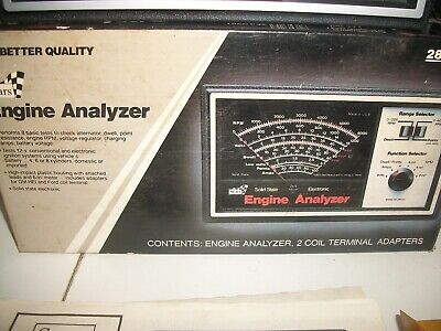 Sears ENGINE ANALYZER 28 2163 unused and complete in the original box