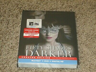 Fifty Shades Darker Blu-Ray + DVD + Digital HD Collectible Digibook - Region A