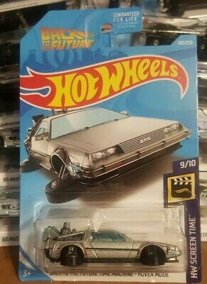 2019 Hot Wheels Back to the Future Time Machine DeLorean Hover Mode 9/10