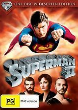 Superman Ii / 2 (1980) - Brand New & Sealed Region 4 Dvd (Christopher Reeve)