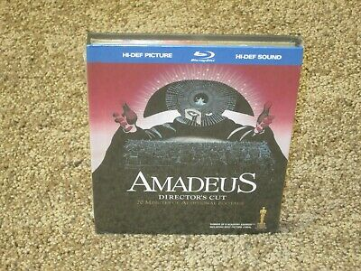 Amadeus Blu-ray Digibook with Bonus CD Director's Cut - Region A