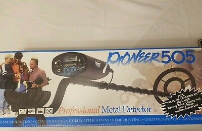 Bounty Hunter Pioneer 505 Digital Metal Detector With Original Box Brand New