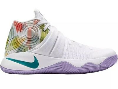super popular 9c977 1a277 Nike Kyrie 2 Easter 819583-105 Hyper Jade Lilac Irving RARE Size 10