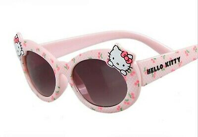 NEW Kids Girl Children Pink Hello Kitty 100% UV protective eye sunglasses Goggle