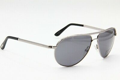 734ab36fc44 NEW TOM FORD Tf 144 14D Marko Silver Authentic Sunglasses 58-13 ...