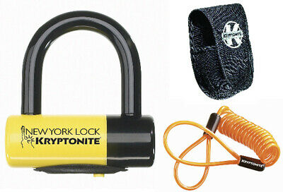 Kryptonite Motorcycle Bike Lock New York Disc Lock - Liberty