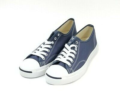 0bbd5624421d CONVERSE JACK PURCELL CP OX Canvas Shoes Sz 10 Mens Navy White 1Q811 ...