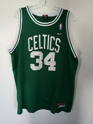 00a529d5 VTG Nike NBA Boston Celtics Paul Pierce #34 Swingman Jersey Mens XL Sewn