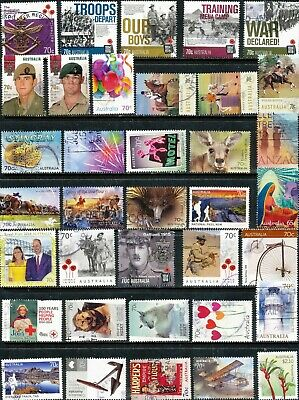 Australian Stamps 70c SHEET stamps - Used/Bulk