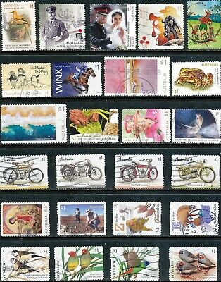 Australian Stamps $1.00 2018 Recent - Used/Bulk