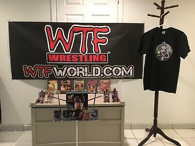 Pro Wrestling For The EXTREME! Fan Pack Featuring ECW Icons, WTF T-Shirt & MORE!
