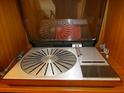 Very Rare Vintage Bang & Oulfsen Belt Drive Rosewood Turntable