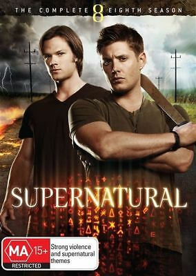 Supernatural : Season 8 (DVD, 2013, 6-Disc Set) R4...NEW & SEALED  *2866