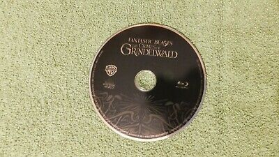 Fantastic Beasts: the Crimes of Grindelwald (2018) - Blu-ray, DISC ONLY - NEW