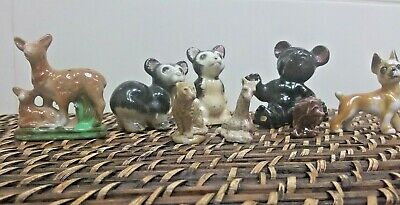 Miniture Ceramic Animal Figurines