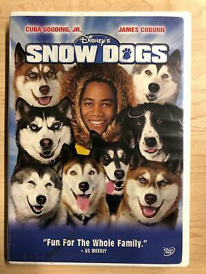 Snow Dogs (DVD, 2002, Disney) - F0224