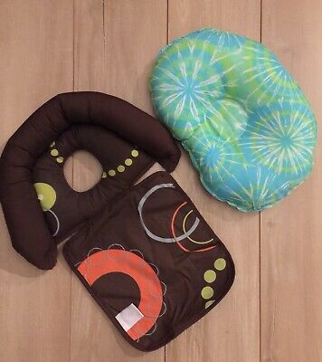 Lot 2 Baby Boppy Nest & Other Head Pillow Flat Head Syndrome Cushion