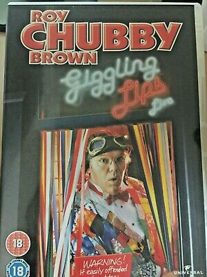 Chubby brown giggling lips