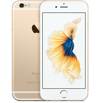 NEW APPLE IPHONE 6S 32GB FACTORY UNLOCKED Gold 1Yr Warranty in Sealed Box