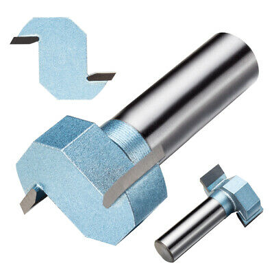 1/2-inch Cutting Depth T-Slot T-Track Slotting Router Bit Cutter 1/2-inch Shank