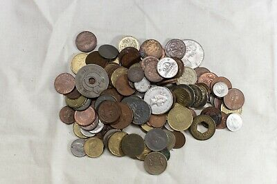 World Foreign Coins mixed lot