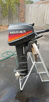 Used outboard motor mariner