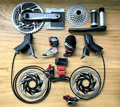 SRAM Red E-tap AXS 2x12s 48/35 46/33 170mm 10-28/33T Full Road Group Groupset