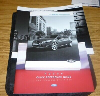 2017 Ford Taurus Owners Manual Set Guide 17 W Case Se Sel