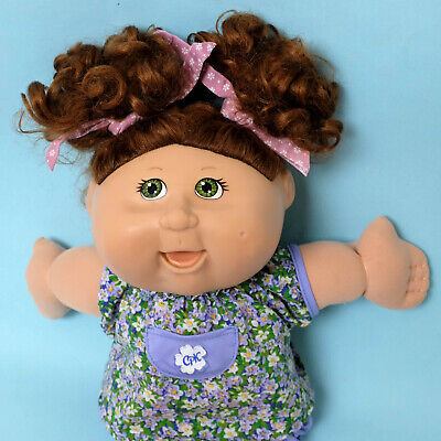 Rare Cabbage Patch Eating Talking Doll Moving Lips Play Along 25th Anniversary