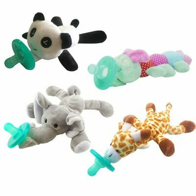 Pacifier Newborn Nipple Soother Silicone For Baby Kids Toy Plush Fashion Infants