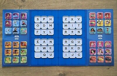 Woolworths Disney Words Tiles FULL SET Included Letters(A-Z)+2 Rare + Folder