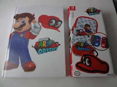 Guide officielle Super Mario Odyssey + Etui Switch -NEUF-